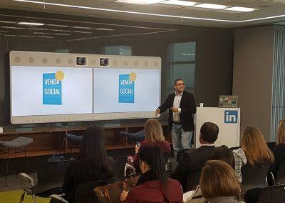 Palestra na sede LinkedIn em São Paulo