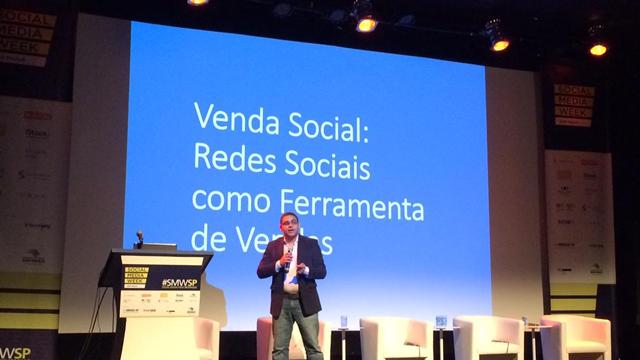 Takes Palestra Social Selling Venda Social SMWSP 2015