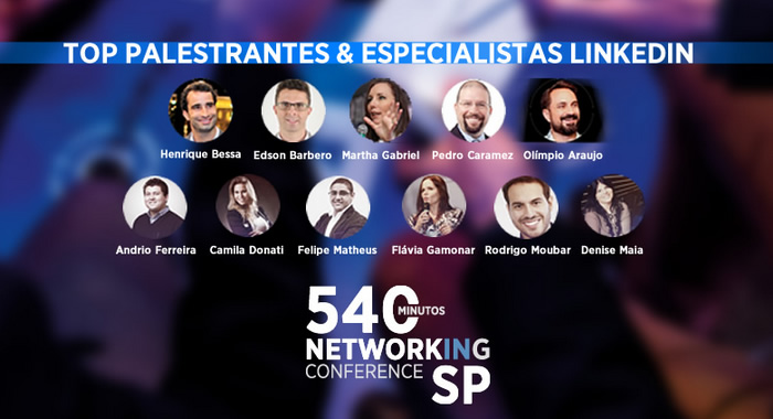 Sou palestrante no Networking Conference SP 2016